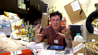Stephen Colbert Heads To His Bunker To Panic Following The NYSE Shutdown