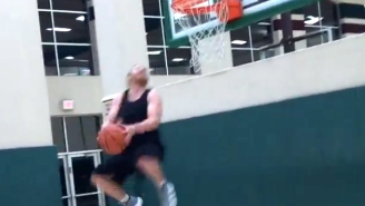Watch Tiny Cowboys WR Cole Beasley Throw Down A Reverse Dunk