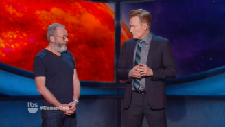Conan Got Told Off By 'Game Of Thrones' Actor Liam Cunningham