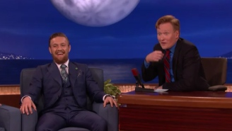 Conor McGregor Tells Conan He's Down For 'Dismantling' Floyd Mayweather In A Boxing Ring