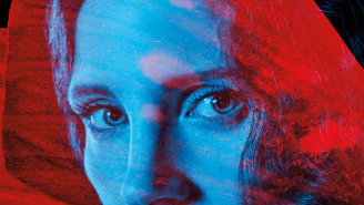 Exclusive: Jessica Chastain is a gothic queen in blood-red 'Crimson Peak' poster