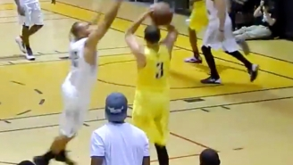 Seth Curry Dropped 20 Of His Team's 26 First-Half Points At The Drew League