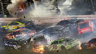 'Oh My F*cking God': Hear Dale Earnhardt, Jr.'s In-Car Reaction To Sunday's Spectacular Wreck