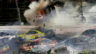 Check Out The Insane Videos And Photos From The Massive Crash At Daytona On Sunday Night