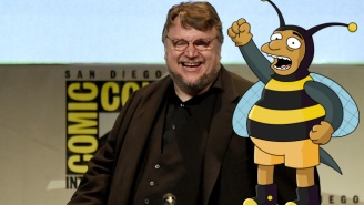 Guillermo Del Toro Makes His Case To Guest Star On 'The Simpsons' As A Perfect Character