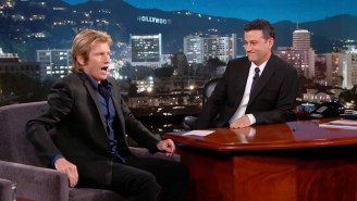 Denis Leary Shared A Crazy Poop Story On 'Jimmy Kimmel Live'