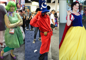 Deadpool and Disney: Two cosplay trends that took over Comic-Con