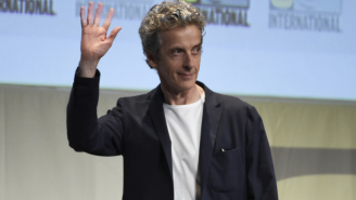 Did Peter Capaldi just accidentally give away Maisie Williams 'Doctor Who' role?