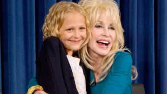 Dolly Parton chooses the cutest little girl on Earth to play Dolly Parton