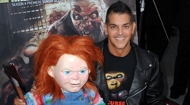 Don Mancini and Chucky 2