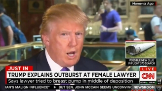 Donald Trump Will Not Tolerate 'Disgraceful' Women Who Wish To Breastfeed