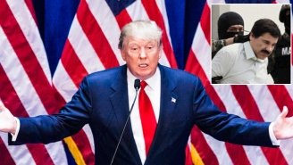 Donald Trump Believes Only He Can Conquer Escaped Mexican Drug Lord 'El Chapo'