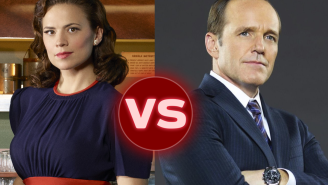 Hayley Atwell just won the Dubsmash War if Clark Gregg's sobs are any indication