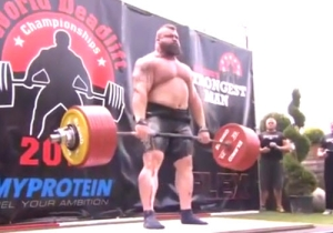 Watch Eddie Hall Break The Deadlift World Record