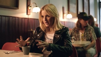 Ellie Goulding raises hell in new 'Powerful' music video