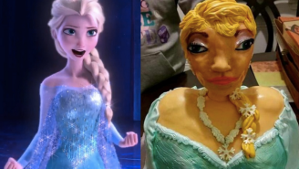 You Should Feel Bad For Mocking This 'Horrific' Elsa From 'Frozen' Cake