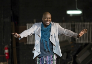 Tituss Burgess calls critics of his 'Unbreakable Kimmy Schmidt' character 'Idiots'