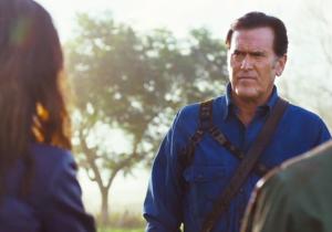 Bruce Campbell, Sam Raimi, And Lucy Lawless Talk 'Ash Vs. Evil Dead' At San Diego Comic-Con