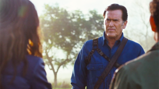 Bruce Campbell, Sam Raimi, And Lucy Lawless Talk 'Ash Vs. Evil Dead' At San Diego Comic-Con