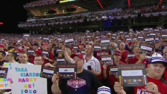 One Of The Worst Fan Proposals Ever Happened During The Home Run Derby