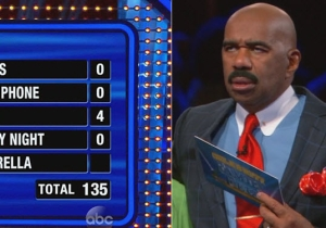 This 'Family Feud' Fast Money Round Did Not Go Well At All