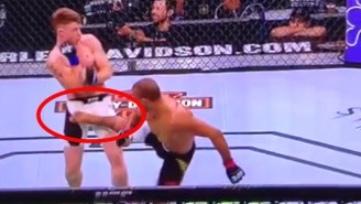 This Spinning Groin Kick From UFC On Fox 16 Was 'Nuts'