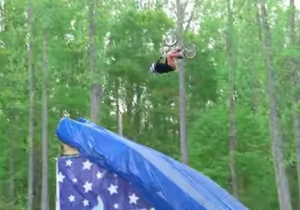Check Out 'Nitro Circus' Stunt Rider Jed Mildon Land The First-Ever BMX Quad Backflip