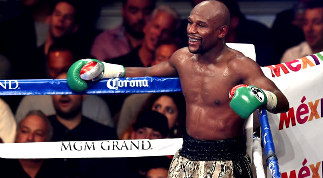 Floyd Mayweather last fight