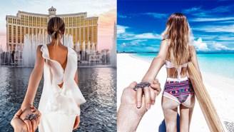 The Hand-Holding Instagram Duo Shared Their Awe-Inspiring Honeymoon Photos