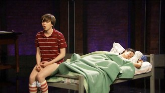 The Cast Of 'Fun Home' Performed 'Changing My Major' On 'Late Night With Seth Meyers'