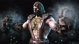 The Rock-Wielding Tremor Crushes Kombatants In The Latest 'Mortal Kombat X' Trailer