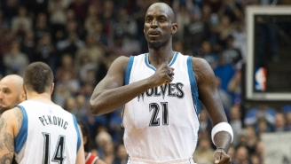 Kevin Garnett Told His Teammates Not To Show Up Next Season If They Aren't Thinking Playoffs