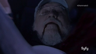 George R.R. Martin Died During Last Night's 'Sharknado' Attack
