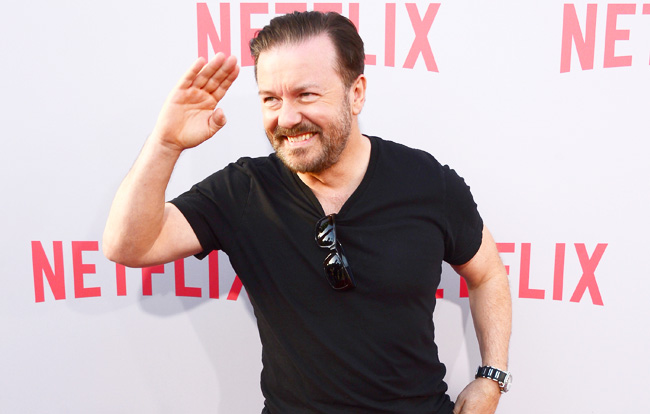 "Screening Of Netflix's ""Derek"" - Arrivals"