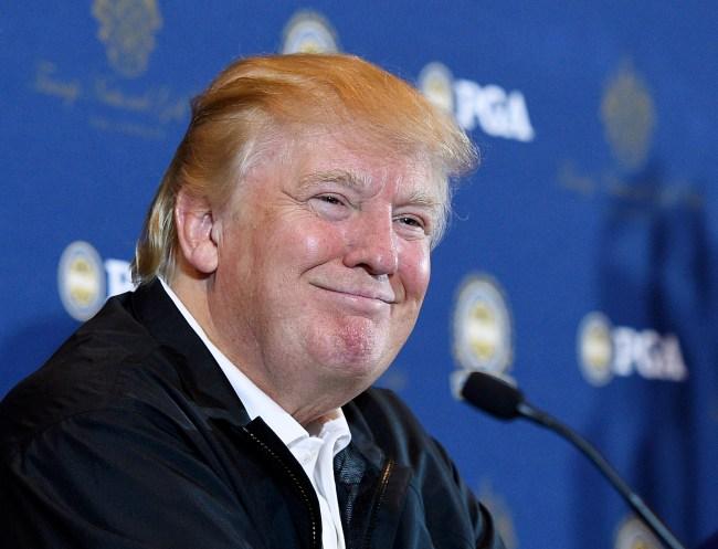 PGA Grand Slam of Golf Site Announcement at Trump LA
