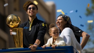 Here's Steph Curry's Adorable Daughter, Riley, Posing With Her New Little Sister