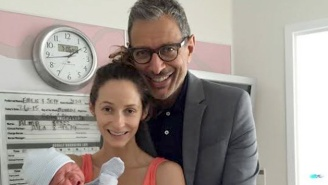 Jeff Goldblum Welcomed His First Child On Independence Day