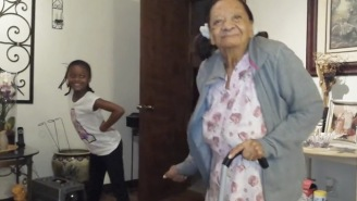Watch This Adorable 97-Year-Old Have A Dance-Off With Her Great-Granddaughter