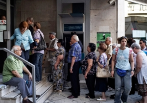 Greece Is On The Verge Of Being The First Country To Have Its Kneecaps Broken