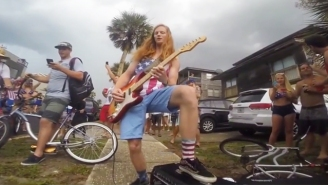 This Florida Guitar God Was Arrested For Shredding The National Anthem Too Hard
