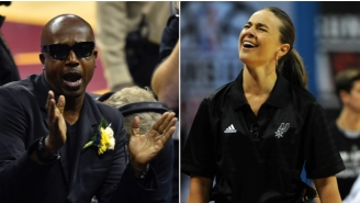 See Spurs Assistant Coach Becky Hammon Bust A Move To 'Hammer Time'
