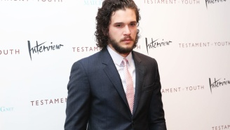 Everybody Freak Out, Because Kit Harington Was Seen On A Flight To Belfast