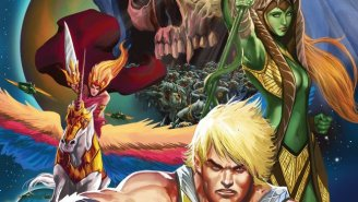 Can Adam Keep The Peace In This Week's Exclusive Preview Of 'He-Man: The Eternity War?'