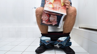 Watch This Guy Get Caught Watching Porn At Full Volume In A High School Bathroom