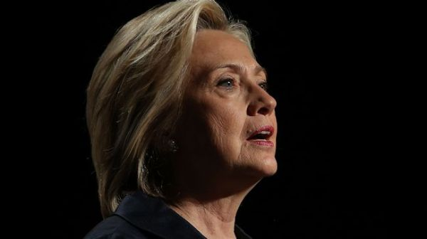 Democratic presidential candidate and former U.S. Secretary of State Hillary Clinton speaks during the 2015 United States Conference of Mayors on May 20, 2015 in San Francisco, California. The 83rd Annual Meeting of the U.S. Conference of Mayors runs through June 22.