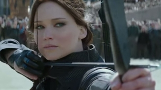 Jennifer Lawrence can't say goodbye to Katniss at final 'Hunger Games' panel