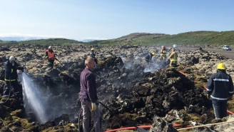 A Cyclist Pooped Outside In Iceland And Caused A Bifröst Wildfire