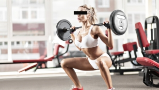 A Gym-Goer Popped Her Butt Implants While Doing Squats