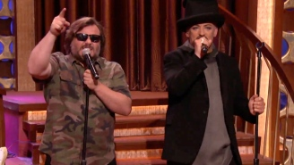 Boy George and Jack Black sang 'Hello I Love You' just like you'd asked