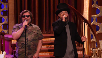 Jack Black And Boy George Join Robby Krieger To Cover 'Hello, I Love You' By The Doors